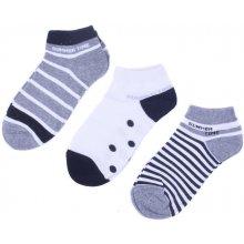 Emi Ross dámské kotníkové bavlněné ponožky 3 páry