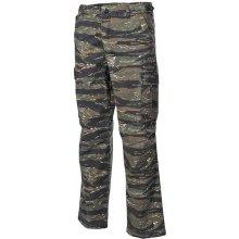 "US bojové kalhoty ""Vietnam"" Rip Stop tiger stripe M.F.H"