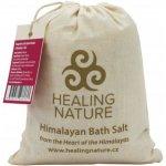 Healing Nature sůl koupelová s růží 1 kg