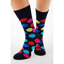 6b263b2b309 Regina pánské ponožky Socks Bamboo 7141 oranžová-tm.modrá