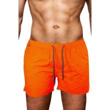 Venice Orange Men koupací šortky oranžové zářivá