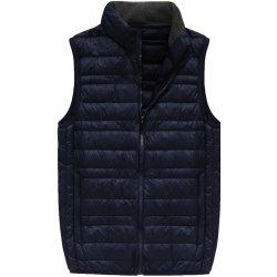 4926725f466 Pánská vesta pánská vesta s přírodní vycpávkou 5008 tmavěmodrá