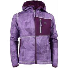 Alpine Pro Jandro KJCJ082 dětská softshellová bunda tmavě fialová