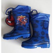 Disney chlapecké gumáky/holínky Spiderman modré