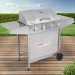 Broil-Master Barbecue BBQGL03 stříbrná