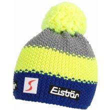 Eisbär zimní čepice Star Neon Pom MÜ SP kids modro žluto šedá 7c7b6c04b7
