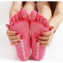 Prstové ponožky na cvičení