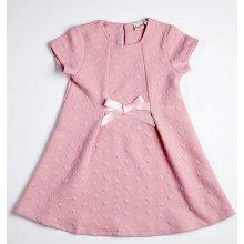 256ed177afe8 Topo Dívčí šaty růžové