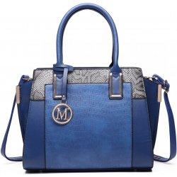 63e793e370 Miss Lulu Bags elegantní dámská kabelka LT6623 modrá od 679 Kč ...