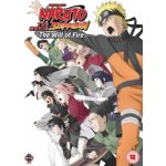 Naruto Shippuden The 3: The Will of Fire DVD