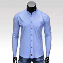 Hunter pánská košile s dlouhým rukávem světle modrá 1aae14d499