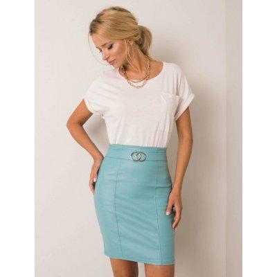 Tužková sukně tyrkysová