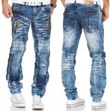 Kosmo LUPO kalhoty pánské KM134 jeans džíny dc1b4ee8f5