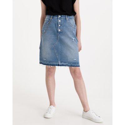 Replay sukně dámské modrá