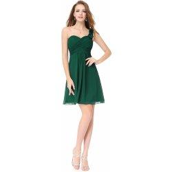 c4c6e5c1255d Krátké šaty společenské koktejlky zelená od 1 600 Kč - Heureka.cz