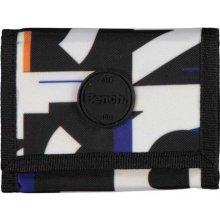 Bench peněženka Aop Tri-Fold Wallet Black Beauty BK11179