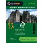 SmartMaps Locator: Cykloturistická mapa ČR a SR 1:75.000