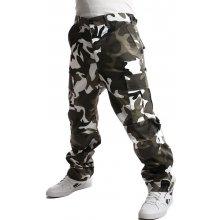 8f44d5ea6f5 YooY pánské maskáčové kalhoty 54KY31 bílá