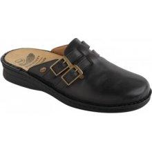 Scholl NEW INDOOR černá zdravotní domácí obuv