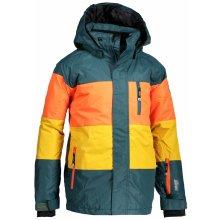 KILPI Chlapecká lyžařská bunda ORMES-JB JJ0108KITRQ Tyrkysová 98 2a4743767a