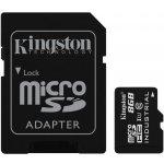 Kingston 8GB microSDHC UHS-I U1 + SD adapter SDCIT8GB
