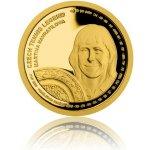 Česká mincovna Zlatá čtvrtuncová mince České tenisové legendy Martina Navrátilová 7,78 g