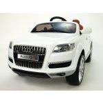 Daimex dětské elektrické autíčko Audi Q7 s dálkovým ovládáním bílá