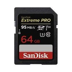 SanDisk Extreme Pro SDXC 64GB UHS-I U3 V30 SDSDXXG-064G-GN4IN