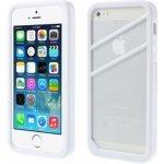 Pouzdro BOBO Ochranné rámeček Apple iPhone 5/5S Bílé