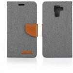 Pouzdro Aligator BOOK FANCY Samsung Galaxy J5 šedé