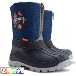 4f8868c83bfa8 Dětská bota Demar Dětské sněhule NEw NORDIC a modré