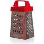 """Červené nerezové multifunkční mini struhadlo """"Culinaria"""", BANQUET - výška 6,5 cm"""