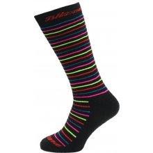 Blizzard Viva Allround Ski Socks black/rainbow stripes