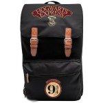 CurePink batoh Harry Potter Hogwarts Express 25l černý