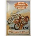 Plechová cedule motocykl JAWA