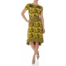 Desigual dámské šaty Woman Dress žlutá 078847092e5