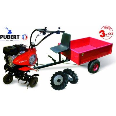 PUBERT VARIO 55P C3 s vozíkem VARES HV 220L + 2x šípová kola 450x10