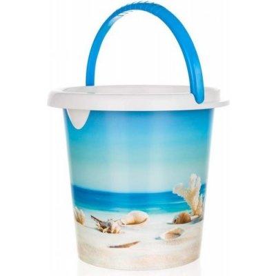 Kbelík plastový SEA 5 l, 21,5 x 23 cm - BRILANZ