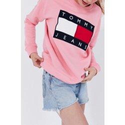 Tommy Hilfiger dámská růžová mikina Tommy Jeans 667 alternativy ... d0d9110e169