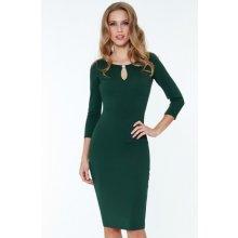 CityGoddess dámské šaty Alex 2103-10 zelená 6641a70ff6
