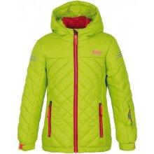 LOAP FEBINA dětská lyžařská bunda zelená zelená 6665125927