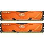 Team Vulcan Series Orange DDR3 8GB 2400MHz CL11 Kit TLAED38G2400HC11CDC01