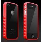 Pouzdro More Glam Rocka iPhone 4 červené