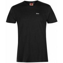 514a83ec7 Lee Cooper Essentials V Neck T Shirt Mens Black