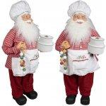 Vánoční figurka - Santa MICHEL 60 cm, Euro Trading Euro Trading 4260416043374