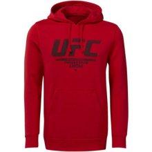 2339ad4a29 Reebok Sport UFC Fan Gear Hoodie Červená