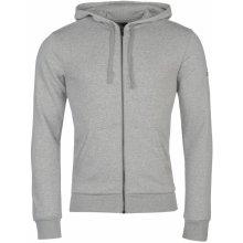 Adidas Essential Base Fleece Hoody Mens Grey