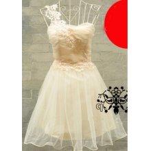 Dámské plesové/svatební šaty Brawo béžové