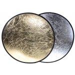 Odrazová deska, odrazná deska 60cm 2 v 1 zlatá stříbrná ELEMENTRIX