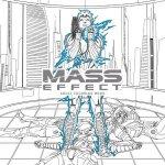 Mass Effect omalovánky